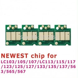 Chip Reset for BROTHER LC101, LC103, LC105, LC107