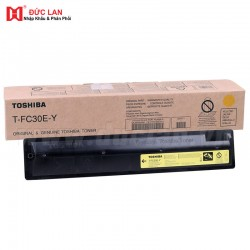 Toshiba Original T-FC30U-Y Yellow Toner (33,600 Pages)