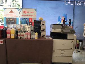 Các doanh nghiệp thuộc nhóm câu lạc bộ LHP tham gia trưng bày sản phẩm tại ĐẠI HỘI LẦN THỨ NHẤT CỦA CLB DOANH NHÂN NAM ĐỊNH