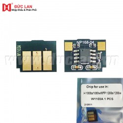 Chip HP  MFP 1200aw/1000a