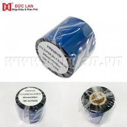 Mực in mã vạch ES12 Premium Wax (60mm x 300m)