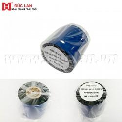 Mực in mã vạch ES22 Premium  Wax/ Resin (60mm x 300m)