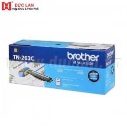 Hộp mực màu Brother TN263C (Xanh) – Cho máy L3230Cdn/ L3551Cdw/ L3750Cdw