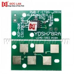 Compatible chip for Toshiba E-Studio 163/203/165/205/166/206/167/207/237 (BK/10K)