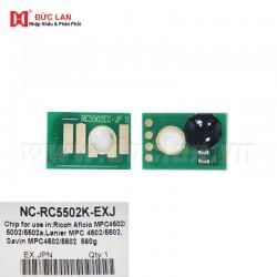 Chip Aficio MPC4502/5002/5502 BK