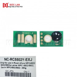 Chip Aficio MPC4502/5002/5502 Y