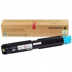 Fuji Xerox CT202489 Cyan Toner Cartridge - Original (15,000 Page)