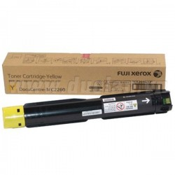 Fuji Xerox CT202491 Yellow Toner Cartridge - Original (15,000 Page)