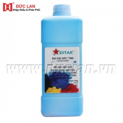 (500g) 841289 Cyan Toner Refill for Ricoh Aficio MPC6000, MPC7500 Color Digital (No Chip)