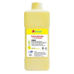 Yellow Toner Refill for Ricoh  MP C4502/ MP C5502
