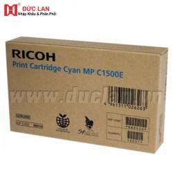 Original equipment manufacturer color toner Cartridge  Ricoh Afico 888550/ Cyan Toner Ricoh Afico PC 1500