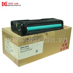 Genuine OEM Ricoh SP C220 Toner Cartridge - Magenta