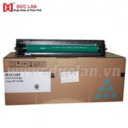 Mực Cartridge Ricoh màu xanh Type 406353/ Aficio SP C231/C232/C310/C311N/C312DN/C320DN (C)