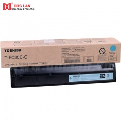 Toshiba Original T-FC30U-C Cyan Toner (33,600 Pages)